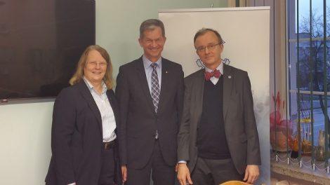 Šiaulių prekybos, pramonės ir amatų rūmuose lankėsi Suomijos ambasadorius