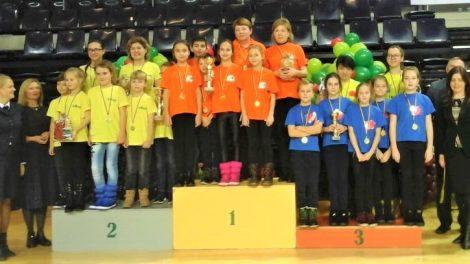"""Lazdijų mokyklos-darželio """"Kregždutė"""" mokiniai konkurso """"Sveikuolių sveikuoliai"""" 2-ojo etapo nugalėtojai"""