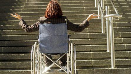 Proveržis Lietuvai - raginimas pasirūpinti saugia aplinka neįgaliesiems