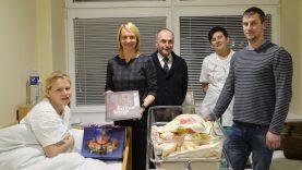 Sausio 1-ąją Trakuose gimę berniukas ir mergytė – Lietuvos 100-mečio kūdikiai