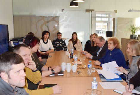 Savivaldybės vadovai susitiko su Dauparų−Kvietinių seniūnijos verslininkais