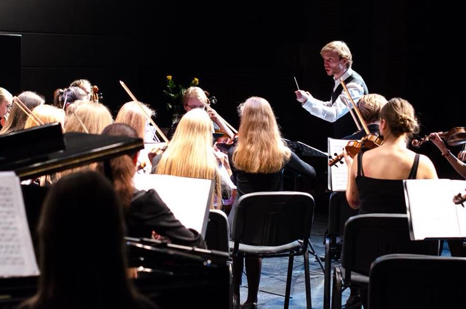 """Alytaus muzikos mokyklos jaunimo simfoniniam orkestrui """"Svajonė"""" – lėšos naujiems instrumentams"""