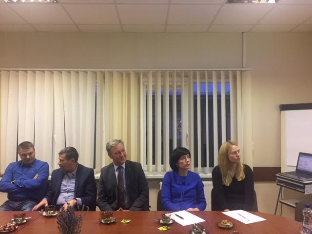 Susitikimas su Joniškio rajono verslininkais