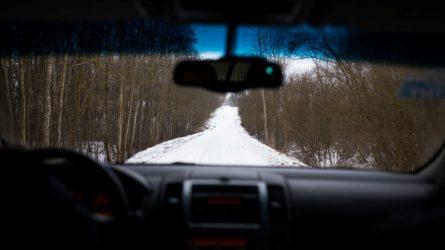 Kaip vairuotojams išsivaduoti iš žiemos spąstų?