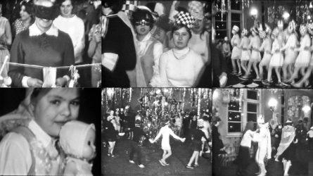 Naujametinis karnavalas Šiauliuose. Kaip mes šventėme prieš 50 metų. (VIDEO)