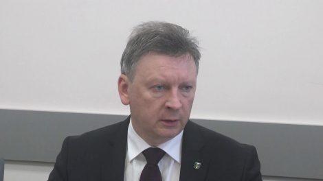 Pirmoji Plungės rajono savivaldybės vadovų spaudos konferencija 2018 metais (VIDEO)