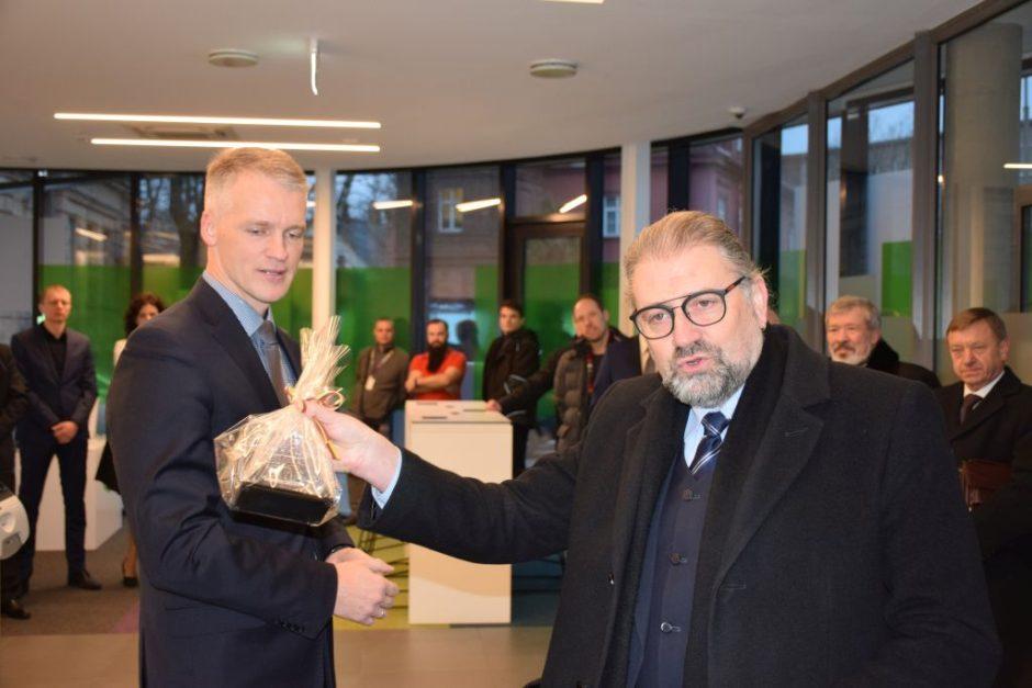 Atidarytas naujas SEB banko Panevėžio finansinių paslaugų centras