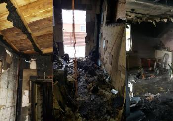 NELIKIME ABEJINGI: Sprogus skysto kuro katilui, ugnis nuniokojo Almos ir Aleksėjaus namą