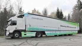 """""""Schmitz Cargobull"""" sukūrė energiją taupančią """"Transformers"""" puspriekabę"""