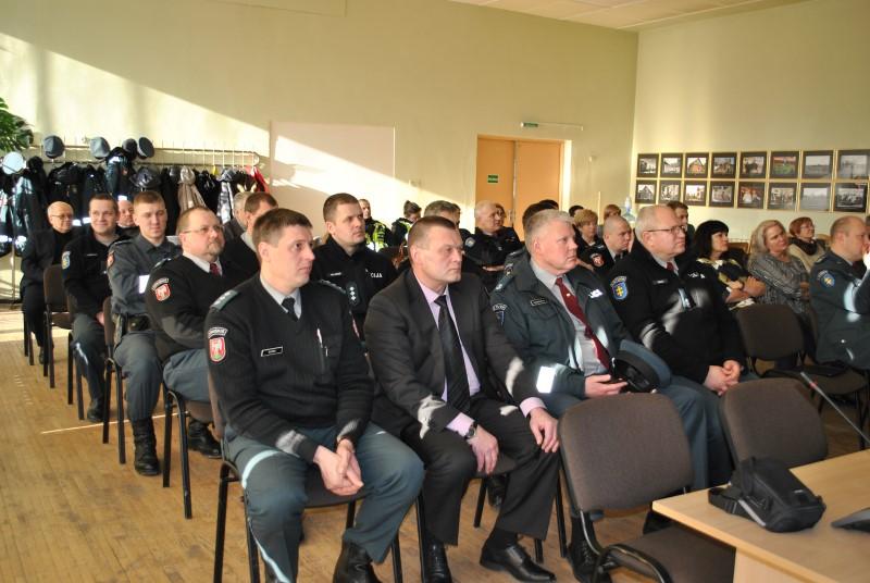 Joniškio rajono savivaldybėje pristatyti policijos veiklos rezultatai