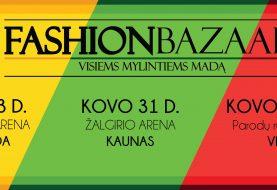 """Lietuvos valstybės atkūrimo šimtmečio proga - grandiozinės """"Fashion bazaar"""" mados mugės"""