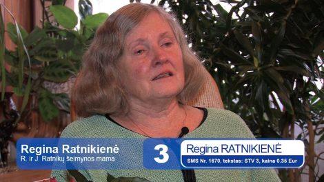 """3. Regina Ratnikienė - """"MOTERIS SAULĖ 2017"""""""