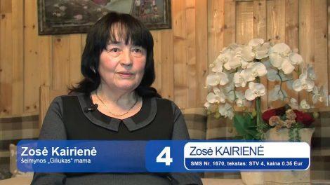 """4. Zosė Kairienė - """"MOTERIS SAULĖ 2017"""""""