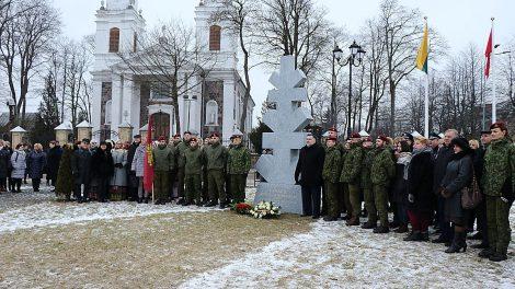Lietuvos kariai išlydėti į 200 kilometrų žygį