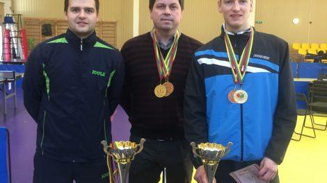 Broliai Domeikos – Lietuvos stalo teniso čempionai