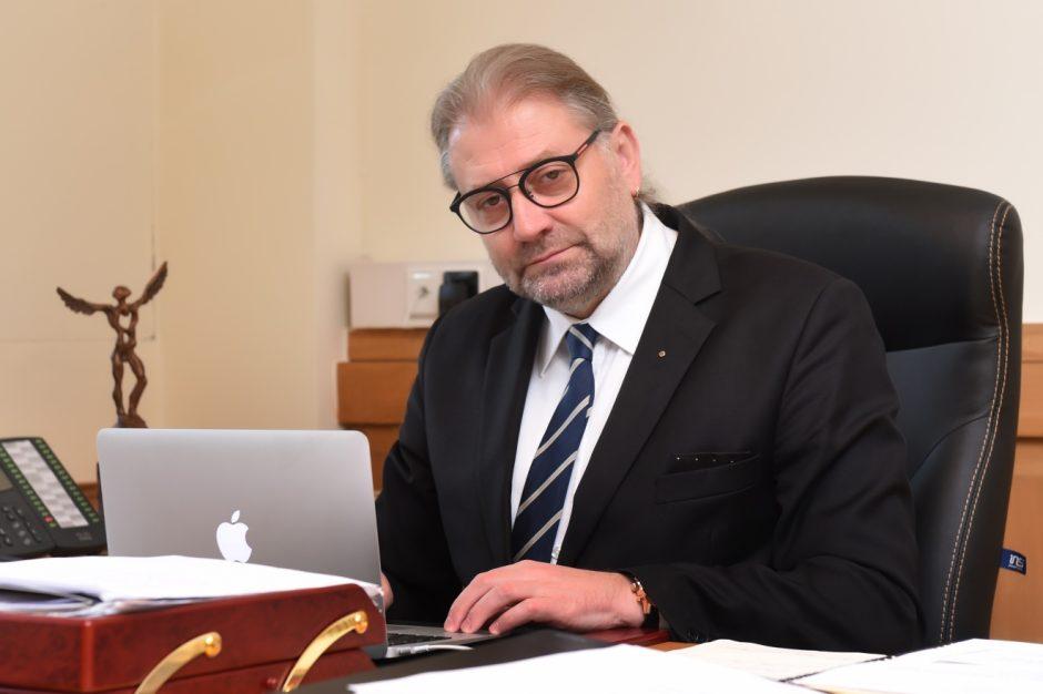 R. Račkauskas: laikomės nulinės tolerancijos korupcijai principo