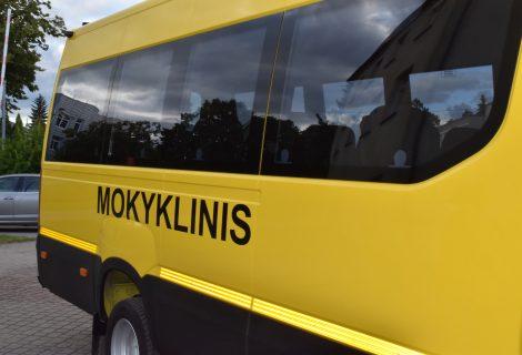 Mokinių pavėžėjimui rajone – 25 autobusai ir specialieji reisai