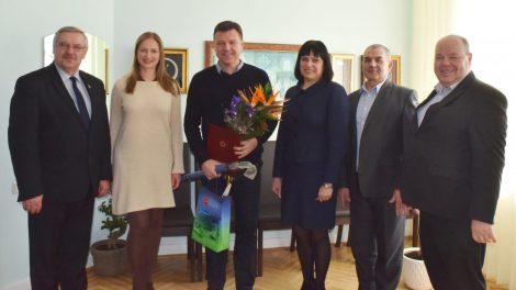 """Sveikiname VšĮ """"Gargždų futbolas"""" direktorių jubiliejaus proga!"""