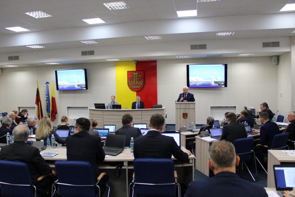 Klaipėdos meras atsiskaito bendruomenei ir tarybai