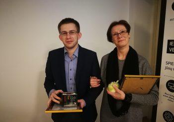 Apdovanoti Šiaulių miesto metų gidai