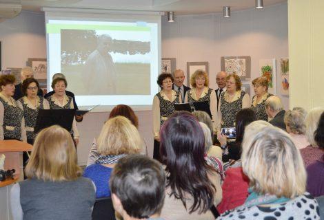 """Poezijos ir muzikos popietė su """"Vidmavitos"""" bendruomene"""