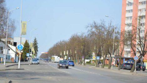 Marijampolė toliau keičiasi - bus atnaujinama Kauno gatvės atkarpa