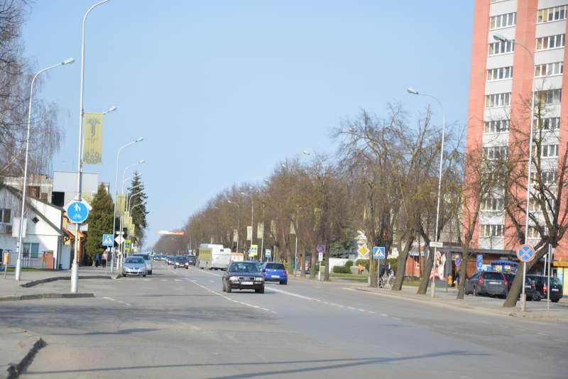 Marijampolė toliau keičiasi – bus atnaujinama Kauno gatvės atkarpa