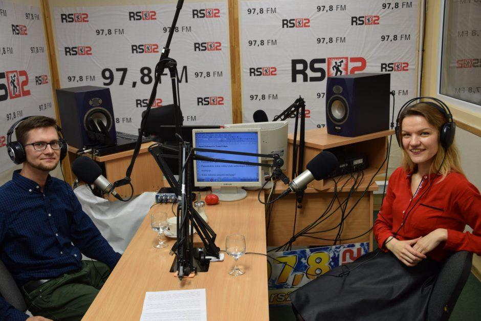 RS2 DIENOS SVEČIAS: Jūratė Paškonytė ir Tomas Grigas