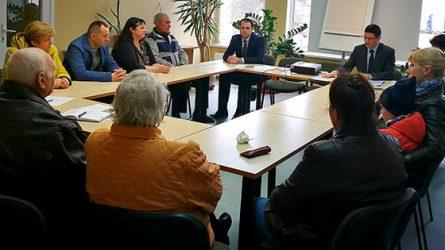 Diskusijoje dėl V. Bernotno gatvės pavadinimo pakeitimo į Tėvo Stanislovo – bandomasis laikotarpis