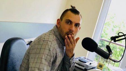 Užsuko įgarsinti audio klipo, liko dirbti radijuje