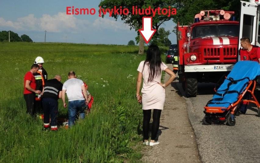 Alytaus rajone eismo įvykio metu sužaloti net septyni asmenys