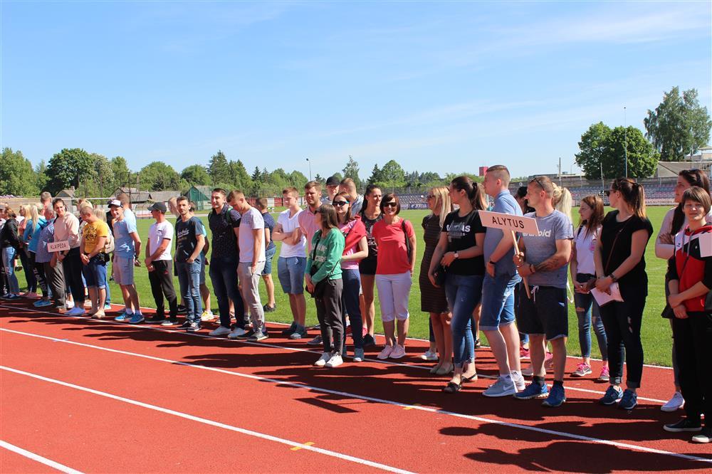 Alytaus sportininkai sėkmingai dalyvavo finaluose
