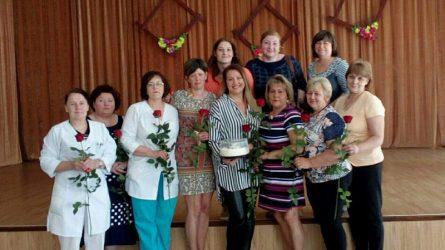 Blinstrubiškių socialinės globos namuose pasveikintos slaugytojos profesinės šventės proga