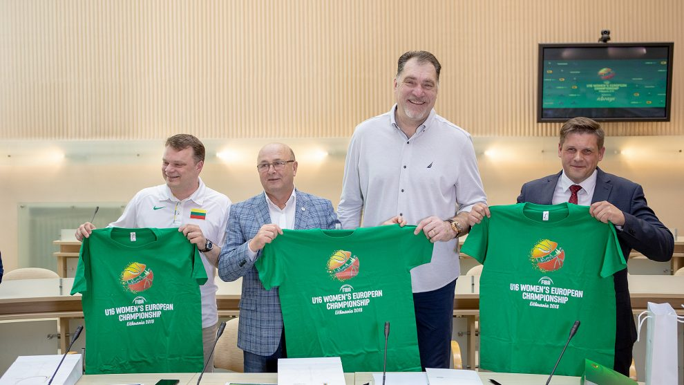Kaune pristatytas Europos jaunučių merginų krepšinio čempionatas