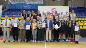 Rajono seniūnijų žaidynių nugalėtojų taurės – Leliūnų ir Vyžuonų sportininkams