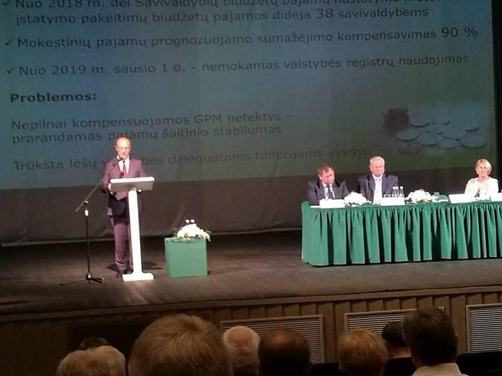 Jonavoje – Lietuvos savivaldybių asociacijos suvažiavimas