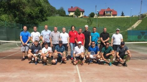 """Jurbarko teniso klubo vyrų """"Piramidės turnyras 2018"""""""
