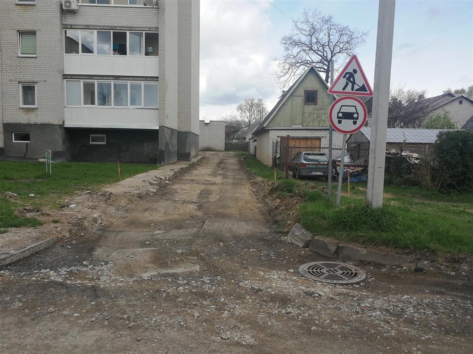 Tvarkome Alytų: gatvėms ir takams remontuoti – per milijoną eurų