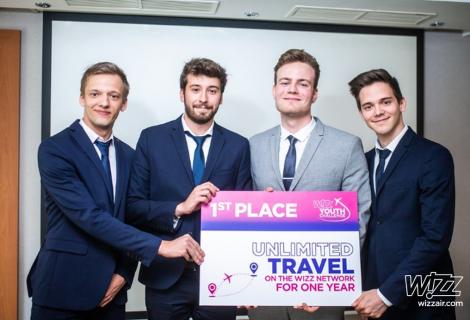"""""""Wizz Air"""" skelbia antrojo tarptautinio iššūkio studentams nugalėtojus"""