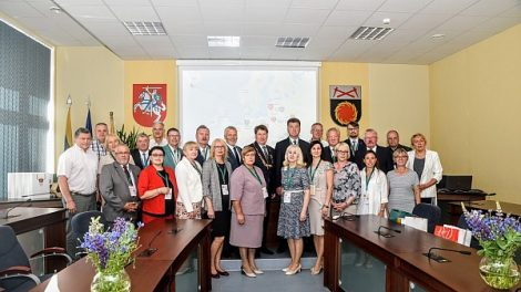 Šventėje apsilankė esami ir būsimi Savivaldybės užsienio partneriai