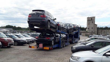 Neramios dienos nelegaliems naudotų automobilių pardavėjams