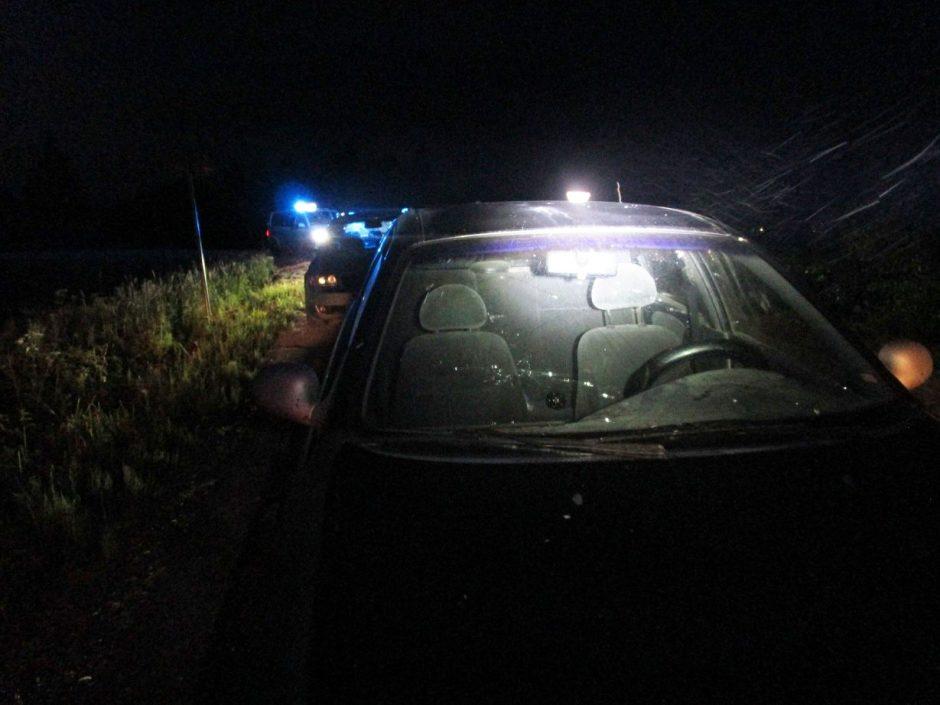 Pagirtinas policijos rėmėjo poelgis sustabdė girto vairuotojo kelionę