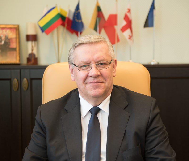 Klaipėdos rajono savivaldybės meras pristatė Savivaldybės veiklą