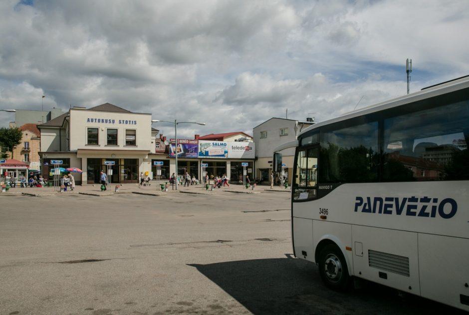 Savivaldybė teiks Panevėžio autobusų stoties konversijos projektą
