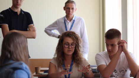 Panevėžio jaunimas sėmėsi patirties iš profesionalų