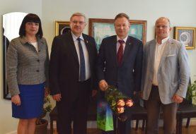 Klaipėdos rajono savivaldybės ir Klaipėdos universiteto bendradarbiavimas ateityje tik stiprės