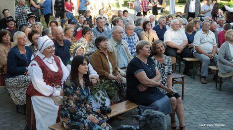 Micaitiškių šventėje skambėjo liaudiškų kapelų muzika