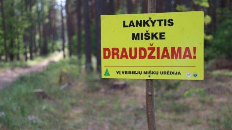 Druskininkų savivaldybėje paskelbta stichinė sausra