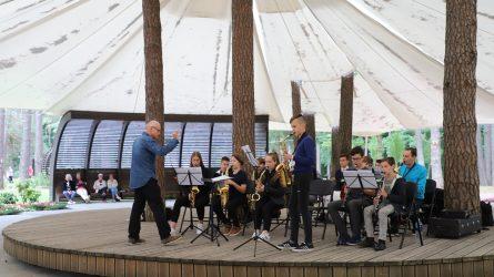 K. Dineikos sveikatingumo parke - dar daugiau renginių ir koncertų