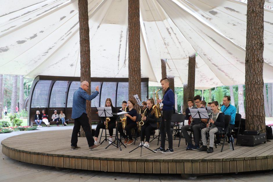 K. Dineikos sveikatingumo parke – dar daugiau renginių ir koncertų